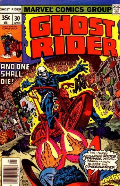 Ghost Rider (1973) no. 30 - Used