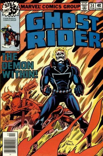 Ghost Rider (1973) no. 34 - Used