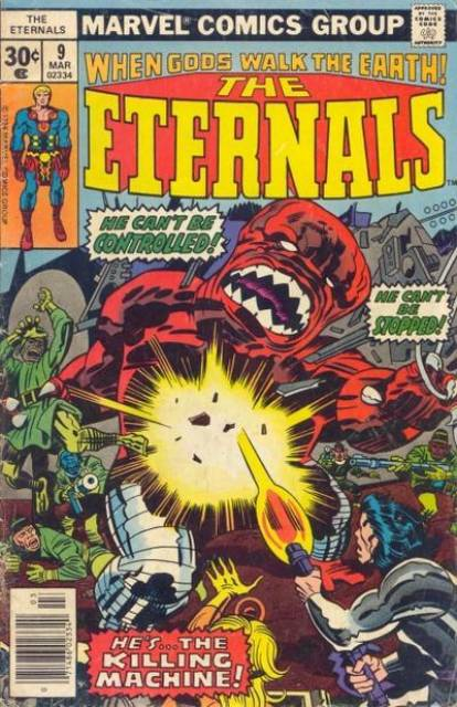 Eternals (1976) no. 9 - Used