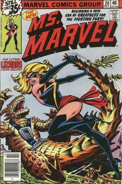 Ms. Marvel (1977) no. 20 - Used