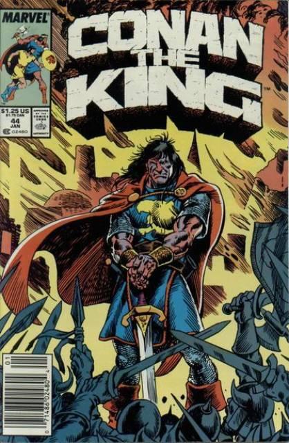 Conan the King (1980) no. 44 - Used