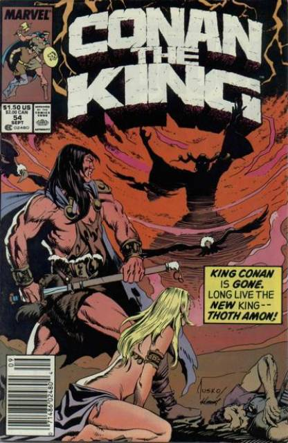 Conan the King (1980) no. 54 - Used
