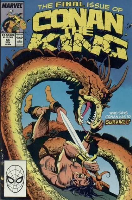 Conan the King (1980) no. 55 - Used