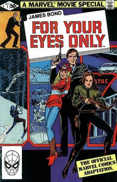 James Bond: For Your Eyes Only (1981) Complete Bundle - Used