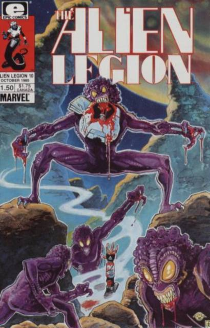 Alien Legion (1984) no. 10 - Used