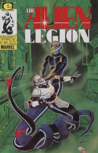 Alien Legion (1984) no. 11 - Used