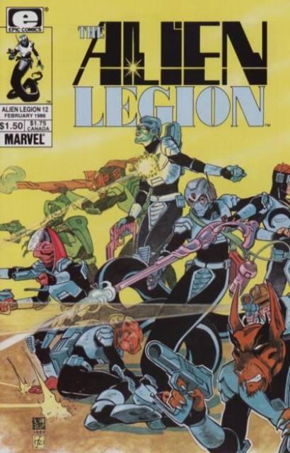 Alien Legion (1984) no. 12 - Used