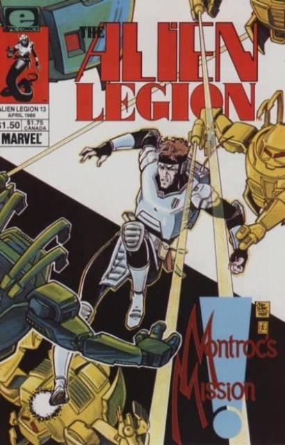 Alien Legion (1984) no. 13 - Used