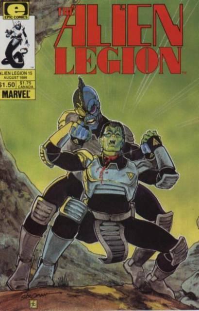 Alien Legion (1984) no. 15 - Used