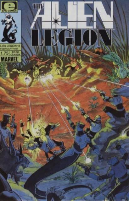 Alien Legion (1984) no. 18 - Used