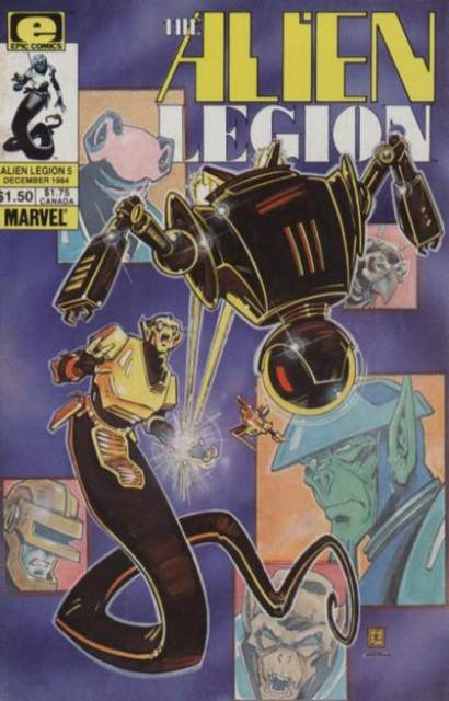 Alien Legion (1984) no. 5 - Used
