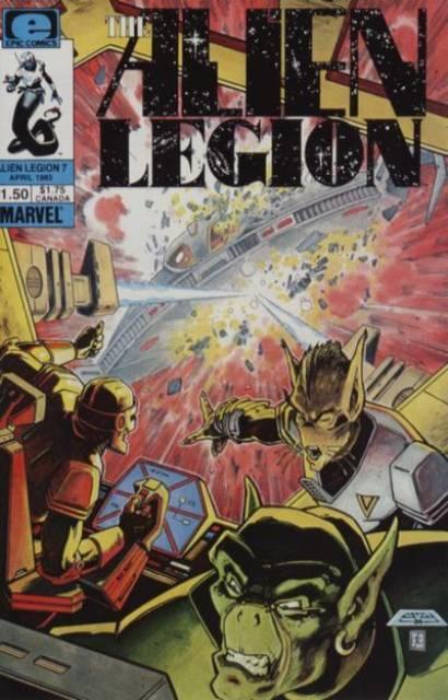 Alien Legion (1984) no. 7 - Used