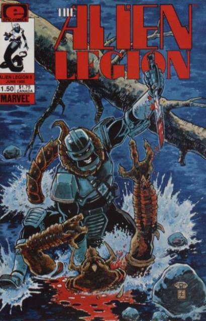 Alien Legion (1984) no. 8 - Used