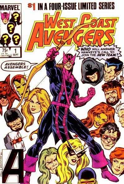 West Coast Avengers (1984) Complete Bundle - Used