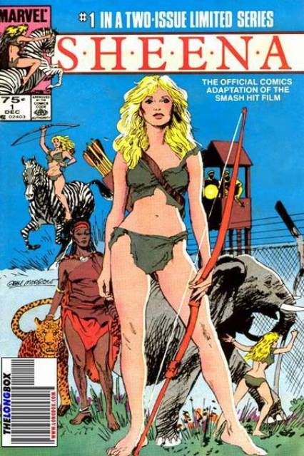 Sheena (1984) Complete Bundle - Used