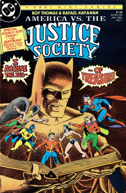 America VS the Justice Society (1985) Complete Bundle - Used