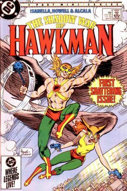 Shadow War of Hawkman (1985) Complete Bundle - Used