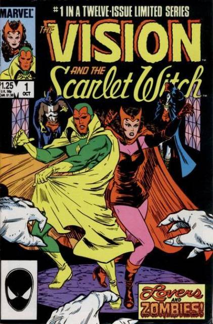 Vision and the Scarlet Witch (1985) Complete Bundle - Used