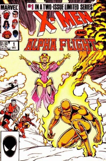 X-Men and Alpha Flight (1985) Complete Bundle - Used