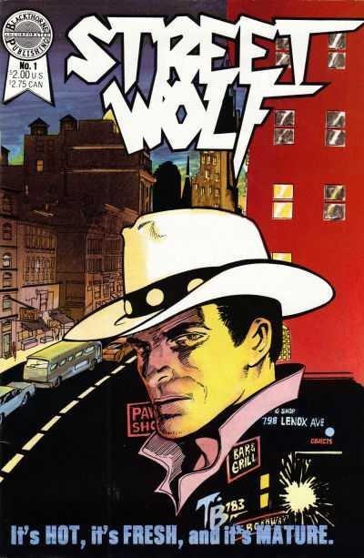 Street Wolf (1986) Complete Bundle - Used