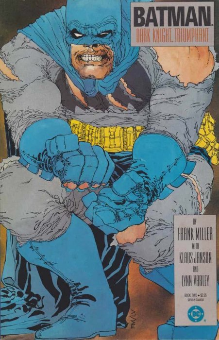 Batman The Dark Knight Returns (1986 1st Printing) no. 2 - Used