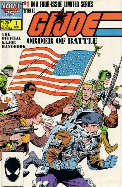 GI Joe Order of Battle (1986) Complete Bundle - Used