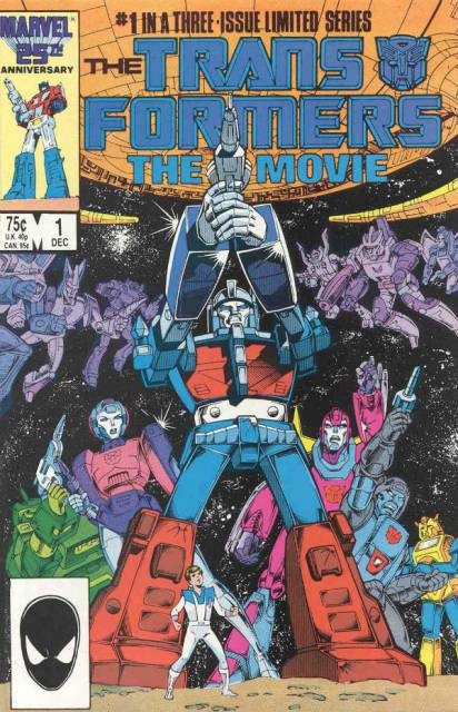 Transformers the Movie (1986) Complete Bundle - Used