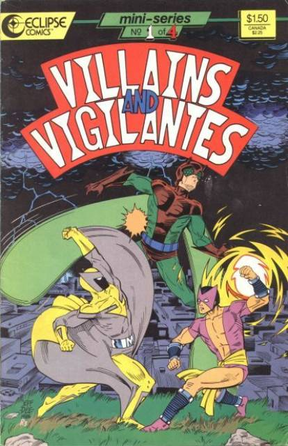 Villains and Vigilantes (1986) Complete Bundle - Used