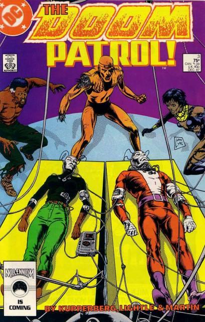 Doom Patrol (1987) no. 3 - Used