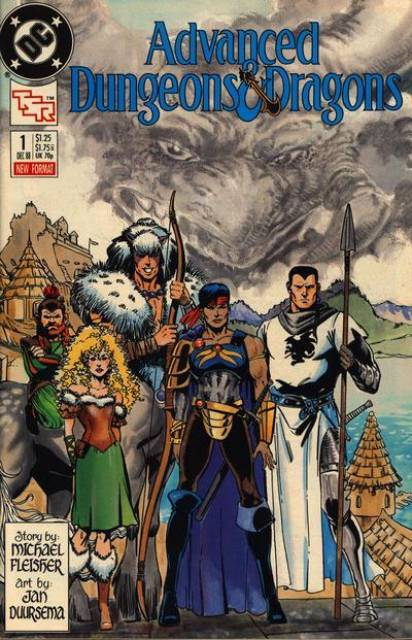 Advanced Dungeons and Dragons (1988) no. 1 - Used