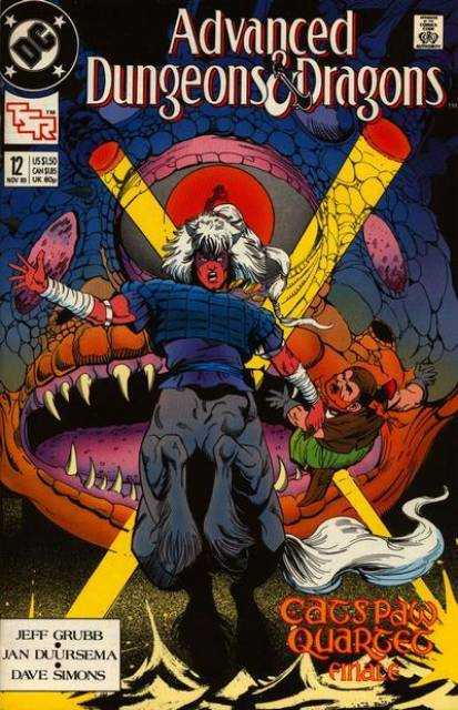 Advanced Dungeons and Dragons (1988) no. 12 - Used