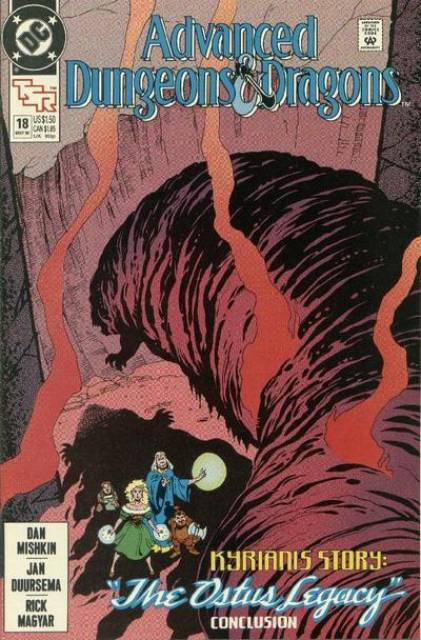 Advanced Dungeons and Dragons (1988) no. 18 - Used