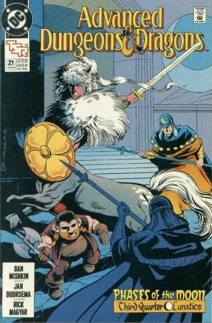 Advanced Dungeons and Dragons (1988) no. 21 - Used