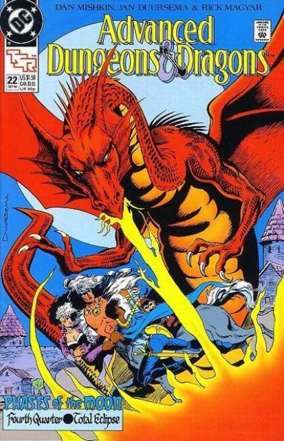 Advanced Dungeons and Dragons (1988) no. 22 - Used