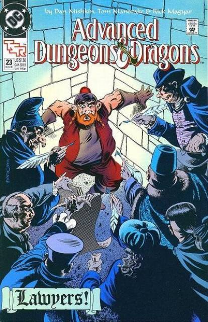Advanced Dungeons and Dragons (1988) no. 23 - Used
