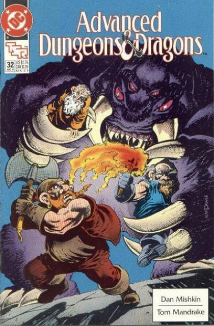 Advanced Dungeons and Dragons (1988) no. 32 - Used