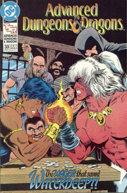 Advanced Dungeons and Dragons (1988) no. 33 - Used
