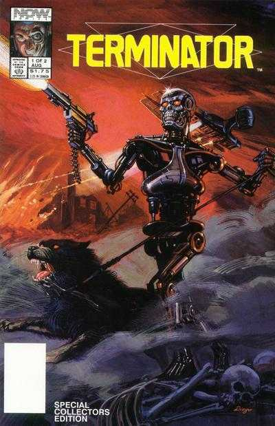 Terminator All My Futures Past (1990) Complete Bundle - Used