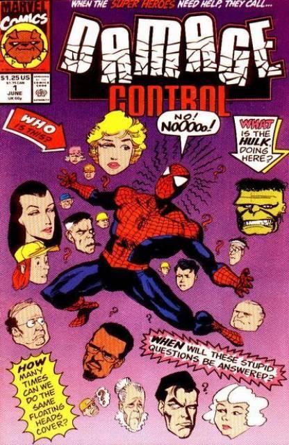Damage Control (1991) Complete Bundle - Used