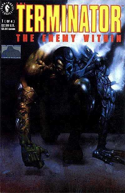 Terminator Enemy Within (1991) Complete Bundle - Used