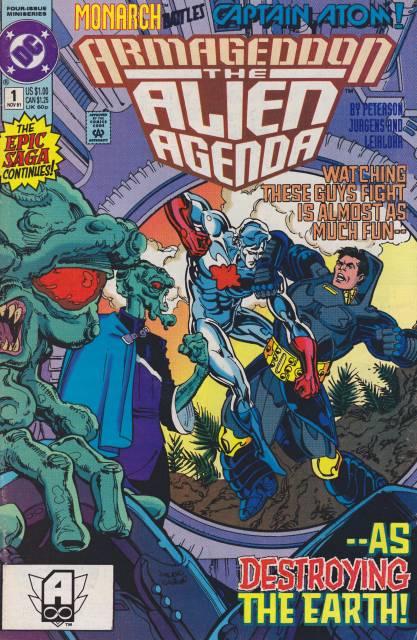 Armageddon The Alien Agenda (1991) Complete Bundle - Used