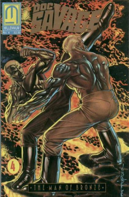 Doc Savage the Man of Bronze (1991) Complete Bundle - Used