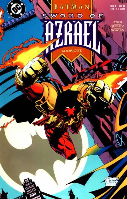 Batman: Sword of Azrael (1992) Complete Bundle - Used
