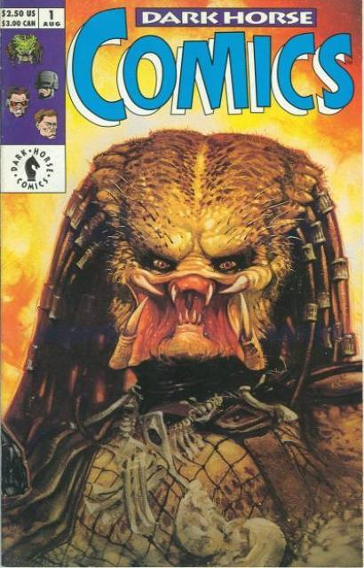 Dark Horse Comics (1992) no. 1 - Used