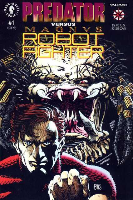 Predator Vs Magnus Robot Fighter (1992) Complete Bundle - Used