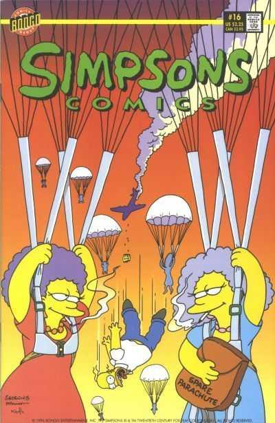 Simpsons Comics (1993) no. 16 - Used