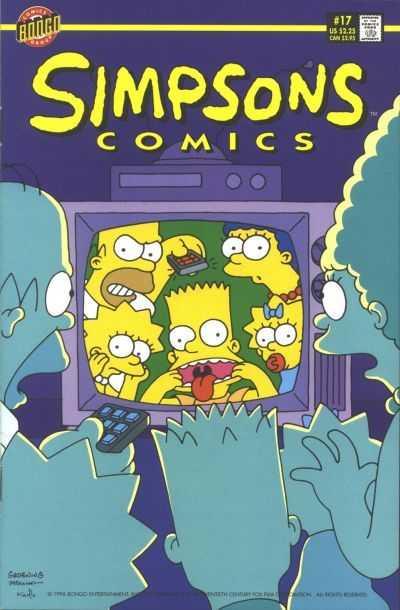 Simpsons Comics (1993) no. 17 - Used