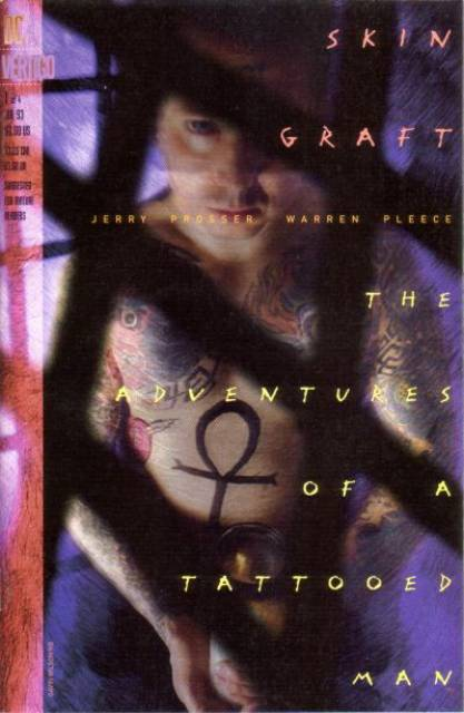 Skin Graft Adventures of a Tattooed Man (1993) Complete Bundle - Used