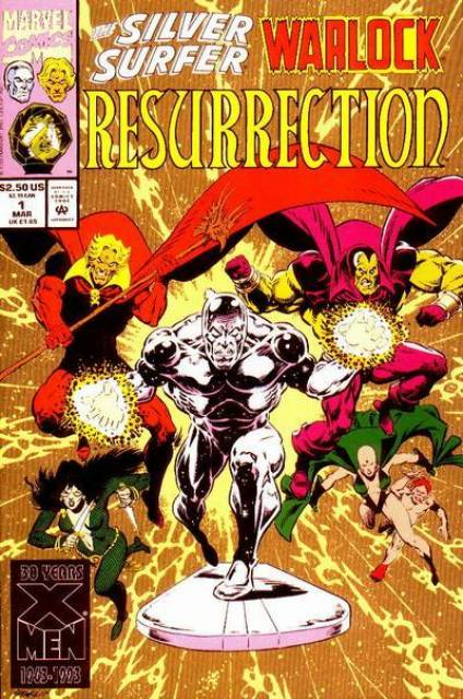 Silver Surfer Warlock Resurrection (1993) Complete Bundle - Used