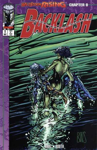 Backlash (1994) no. 8 - Used